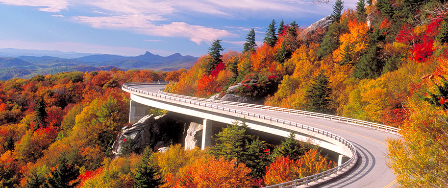 linn cove viaduct blue ridge parkway