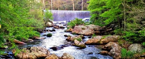 banner-elk-nc-waterfall-mill-pond